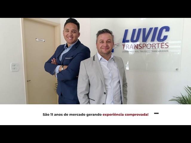 PORTFÓLIO PRODUZ VÍDEO |  PROJETO: Luvic Transportes