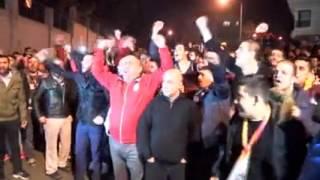 Galatasaraylı Taraftarlar Florya'yı Bastı