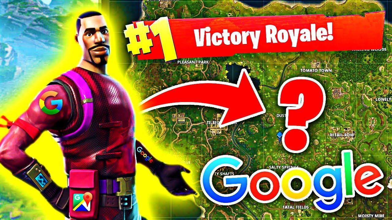 Using Google To Win In Fortnite Battle Royale Youtube