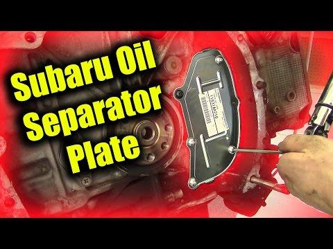 Subaru Oil Separator Plate