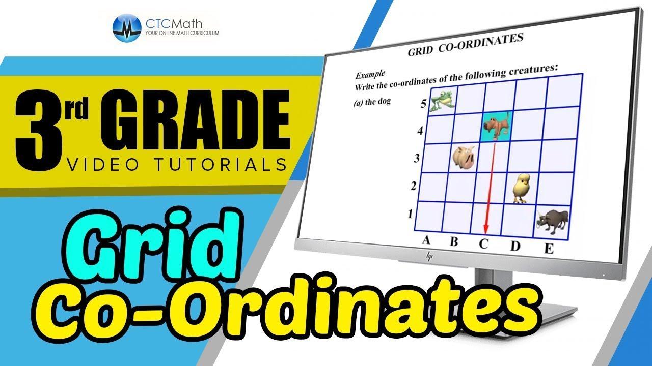 3rd Grade Math Tutorials Grid Co Ordinates