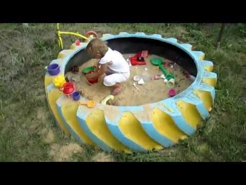 Как сделать детскую площадку своими руками во дворе