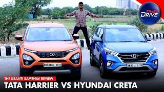 Tata Harrier vs Hyundai Creta | Comparison | Times Drive | The Kranti Sambhav Review