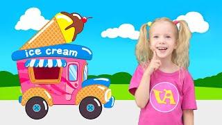 Песенка про мороженое. Волшебный вагончик везет мороженое для детей