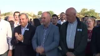 La provincia inauguró la pavimentación y desagües de la calle Chaco en la ciudad de Santa Fe
