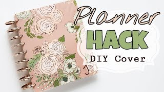 Happy Planner Hack: Making a Cover