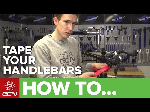 How To Tape Your Handlebars In The Figure Of 8 Style   Maintenance Monday