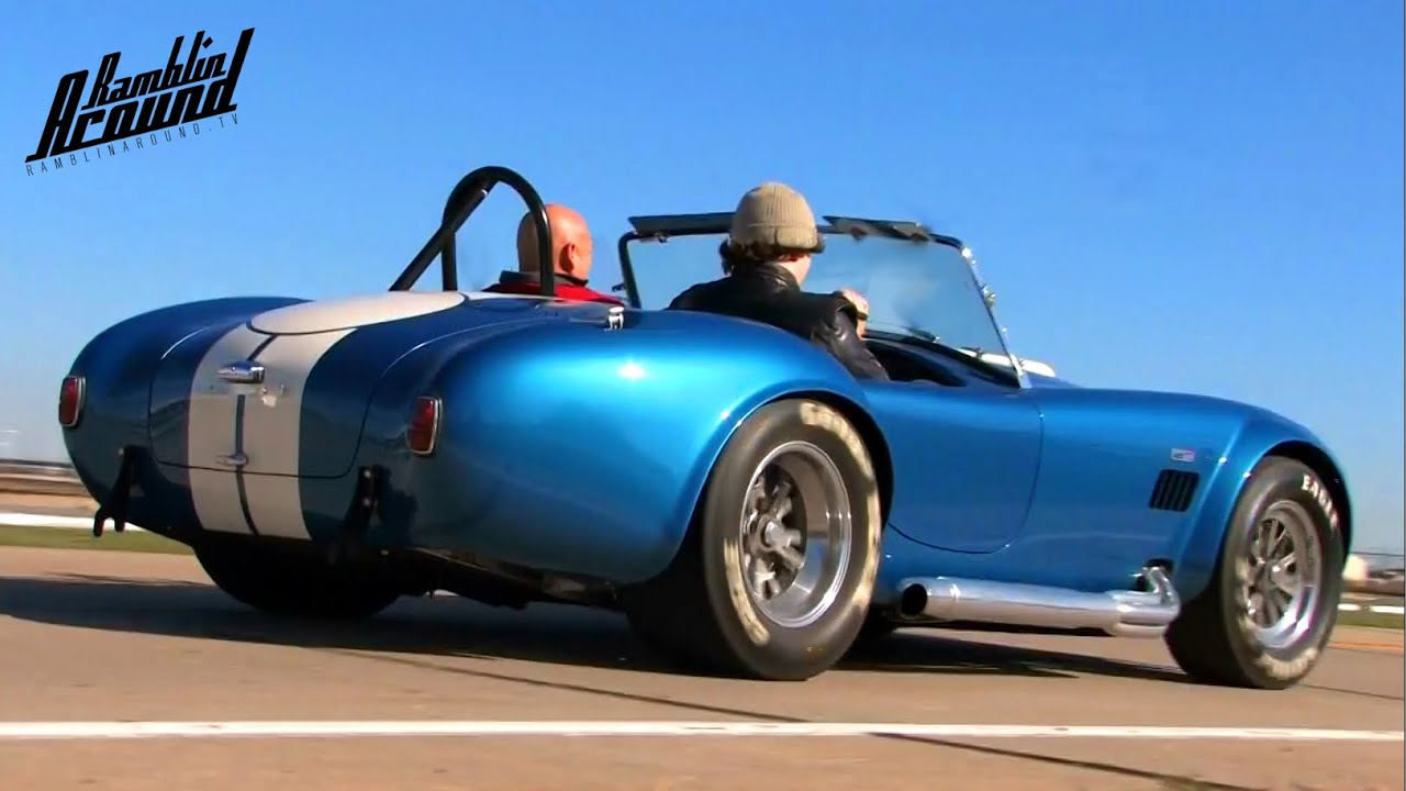 test driving 575 hp 1965 shelby cobra 427 sc csx4891 youtube. Black Bedroom Furniture Sets. Home Design Ideas