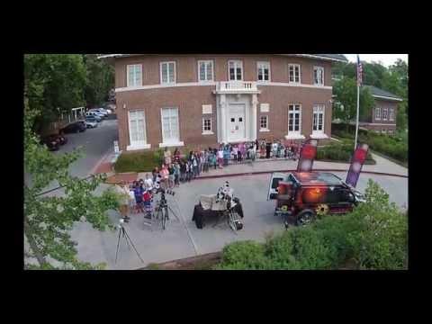 Springdale Park Elementary School Solar Astronomy 4 27 201