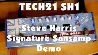 Tech21 SH1 - Steve Harris Signature Sansamp - Demo