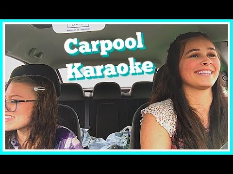 Carpool Karaoke and Getting My Prom Dress!