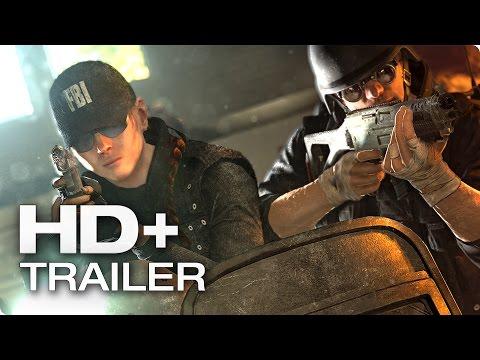 """RAINBOW SIX SIEGE """"FBI"""" Trailer German Deutsch (HD+) 2015"""