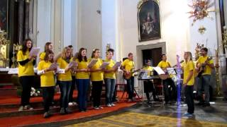 Noc kostelů Pozořice 1.6.2012 - schola PoŠuKov