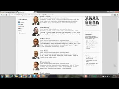Webinar 6 - Work with the World Bank on star rating