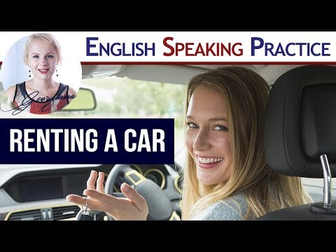 #049 Rent a car (vehicle) in English  | Car Hire mini-story