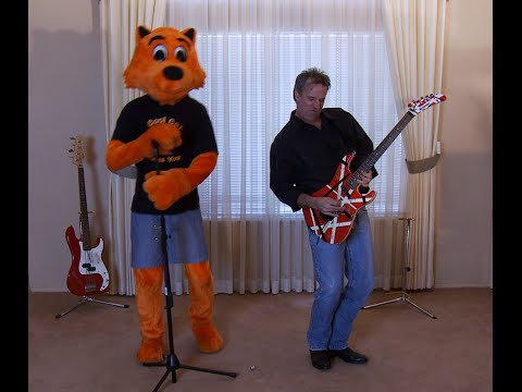 Derek Savage 'Cool Cat Loves to Rock' music video