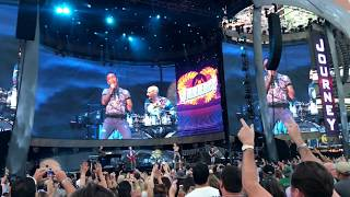 Journey - Don't Stop Believin' - The Classic East - Citi Field - Flushing NYC - 07-30-17 2017 Video