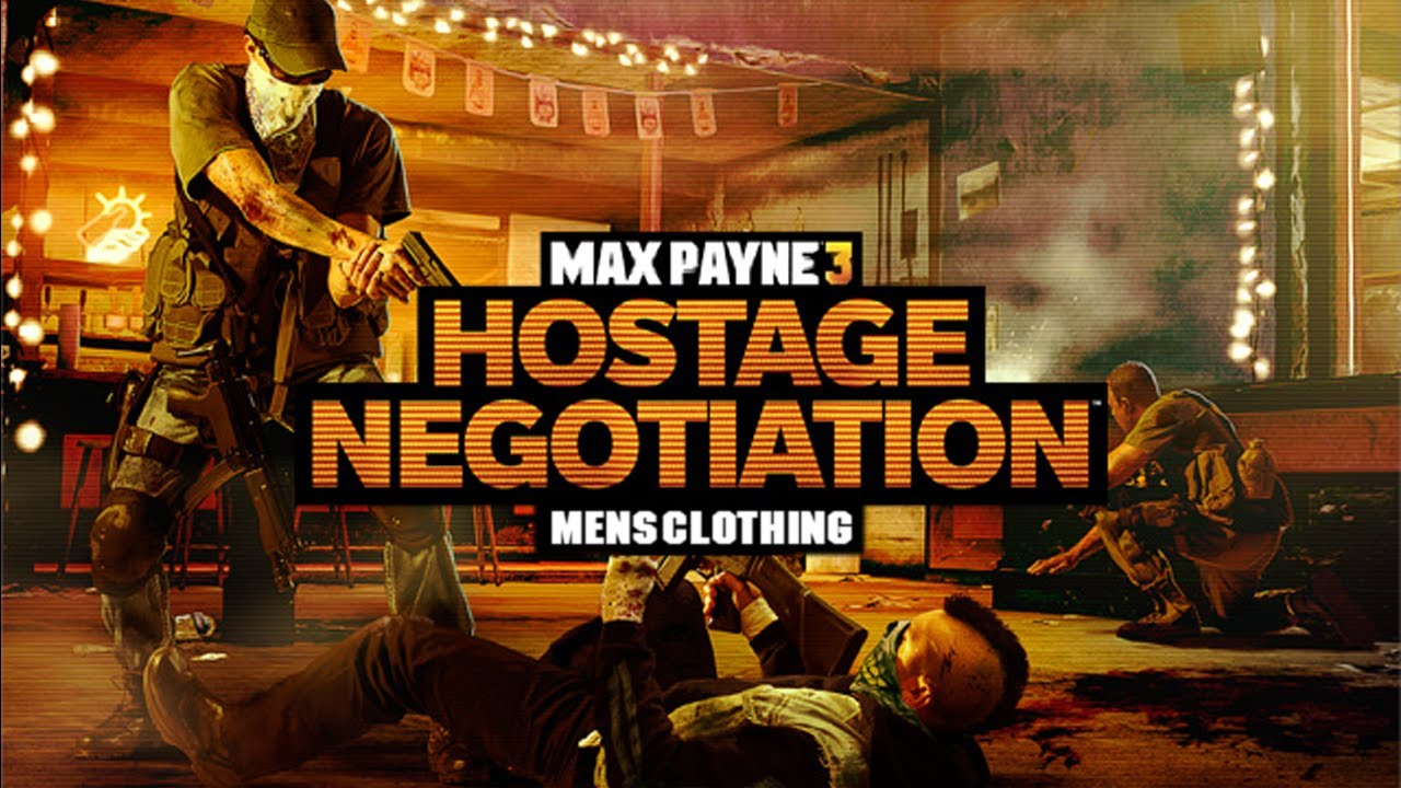 Max Payne 3 All Mens Hostage Negotiation Clothing Youtube