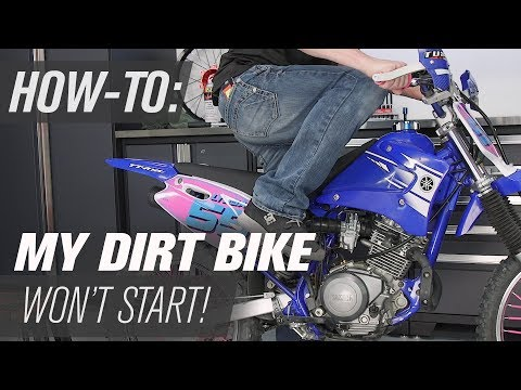 My Dirt Bike Wont Start! - Things To Check