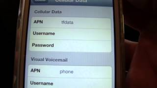 NET10 APN SETTINGS FOR IPHONE 4, iOS 6.1.2,DATA,MMS,PICTURES
