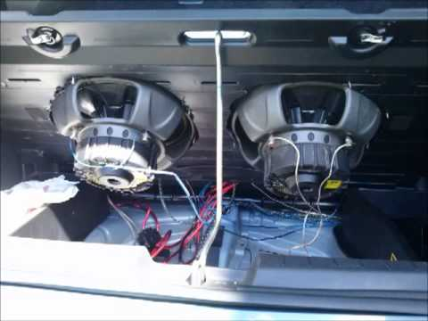 Toyota Yaris Subwoofer Installation Youtube