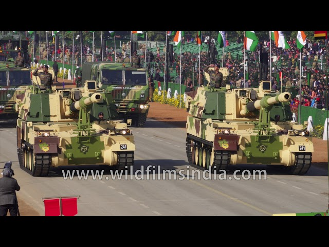 Battle tanks and Indian military armouned might roll down Rajpath, at Republic Day 2020