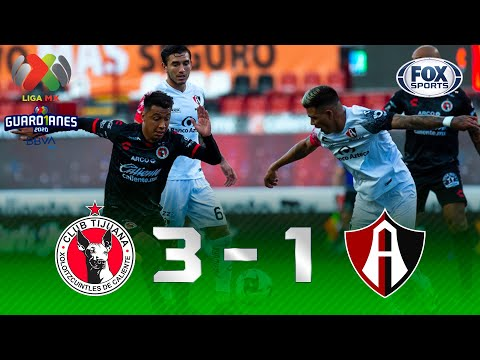 Tijuana - Atlas [3-1]   GOLES   Jornada 1   Liga MX Guard1anes 2020