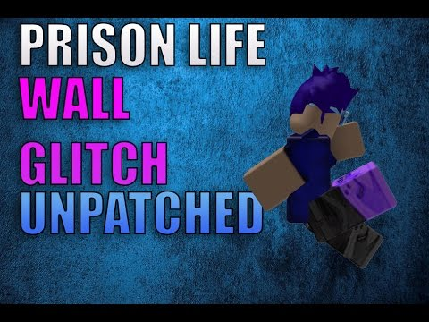 Prison Life   How To Wall Glitch Into Room