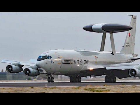 NATO-OTAN AWACS in Turkey Oct 2016