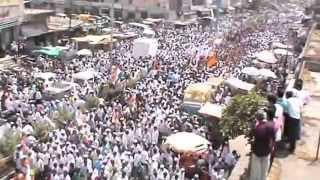 Abdul Sattar's huge rally in Sillod