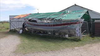 ONE MAN AND HIS BOAT - THE RESTORATION OF JAMES STEVENS No.  10