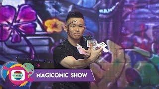 WOW!!Rhomedal Sajikan Banyak Aksi Sulap di Panggung Magicomic Show