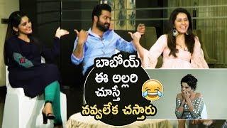 Jr NTR Making Super Hilarious Fun With Nivetha Thomas And Raashi Khanna | Jai Lava Kusa | TFPC