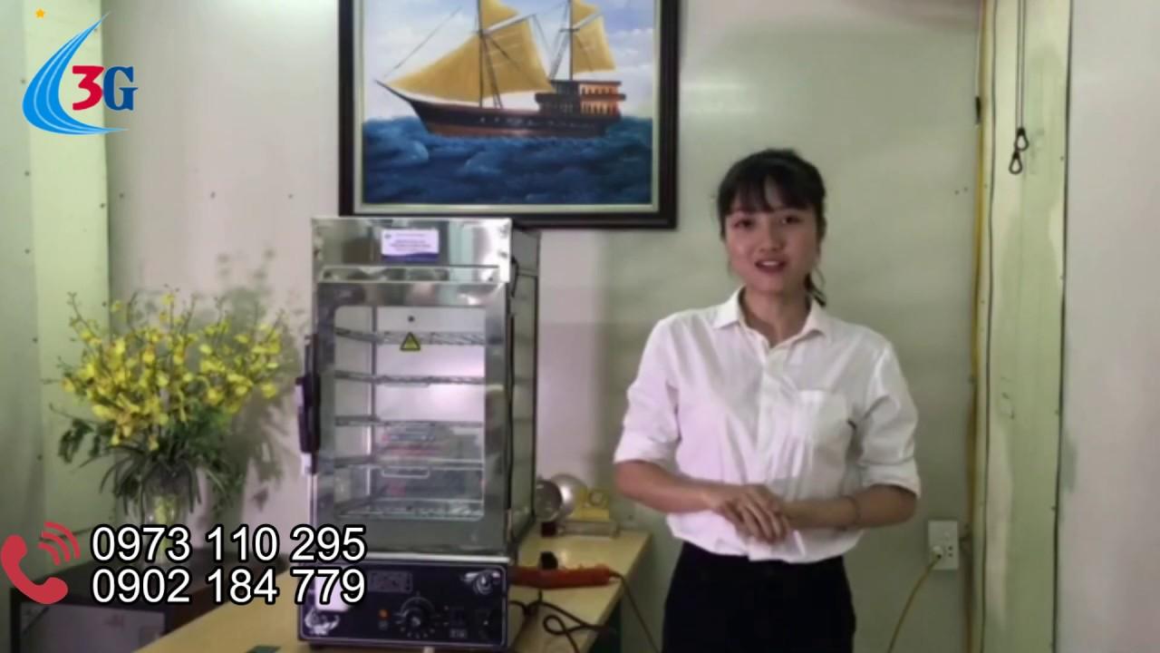 Tủ hấp bánh bao, tủ trưng bầy bánh bao, bánh tẻ | ĐIỆN MÁY 3G