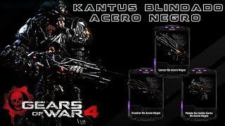 """Gears of War 4 l 1ra. Partida """"RDLC """" l Kantus Blindado Acero Negro l Skins Acero Negro l 1080p Hd"""