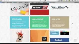 Responsive Business Catalyst Website