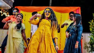 Haldi dance || Kerala wedding highlights || Akhila Ajith || 2020