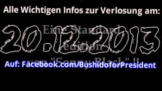 2 Jahre Bushido for President (BfP) + Sonny Black Verlosung!