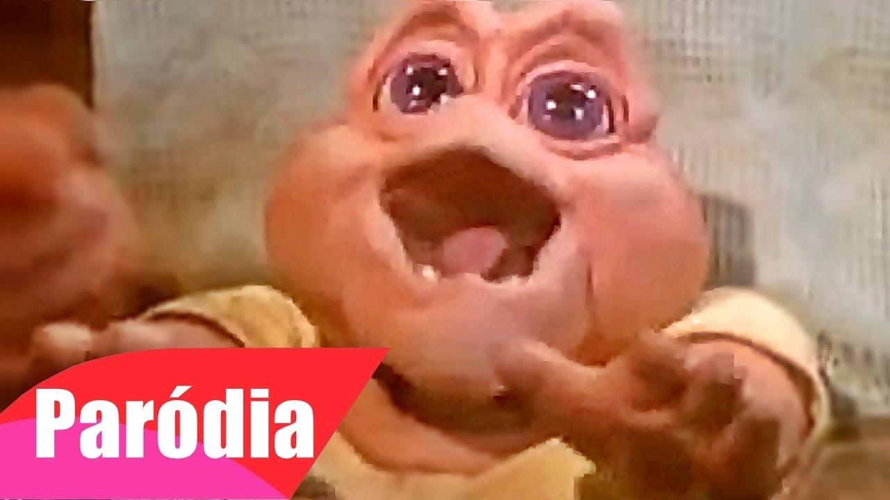 FAMÍLIA DINOSSAURO - Baby Com Fome | PARÓDIA