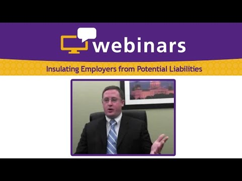 Insulating Employers from Potential Liabilities Caused by a High-Risk Workforce