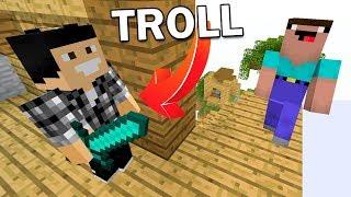 PERSONNE NE VERRA CE PIÈGE ! | TROLL Minecraft