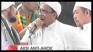 Orasi Habib Rizieq Ketua Fpi Demo Tolak Ahok Jadi Gubernur 10 Novermber 2014 Front Pembela Islam Mp4