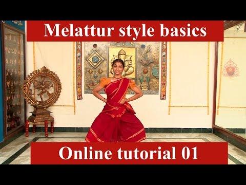 Praarambham tutorial 01 - Sridevi Nrithyalaya - Bharathanatyam Dance