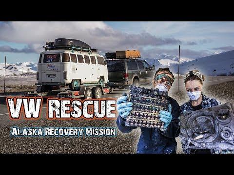 REMOTE VW BUS RESCUE & RECOVERY MISSION // Hasta Alaska // S05E07