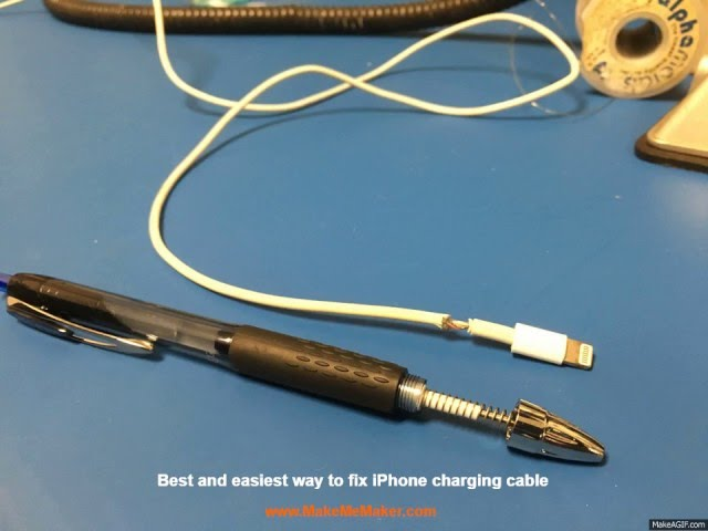 How to Fix IPhone Charging Cable