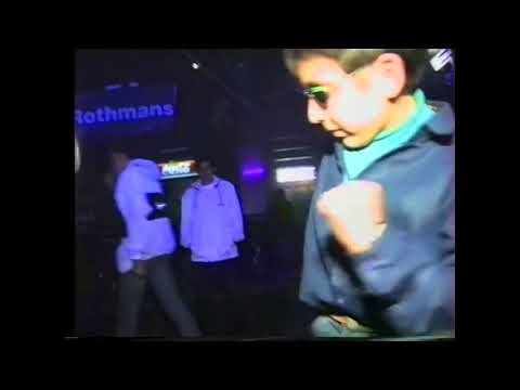 Russian kid dancing in club just wants to hit that yeet