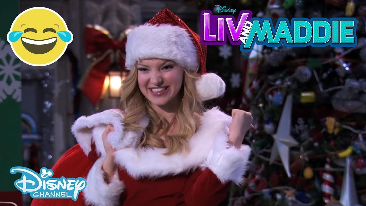 Liv And Maddie Christmas Star Disney Channel Uk Youtube