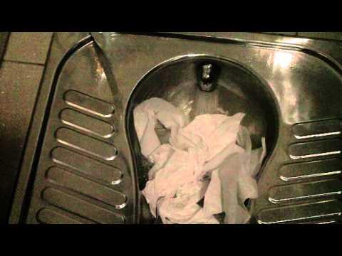 Squat Toilet -Paper Flush