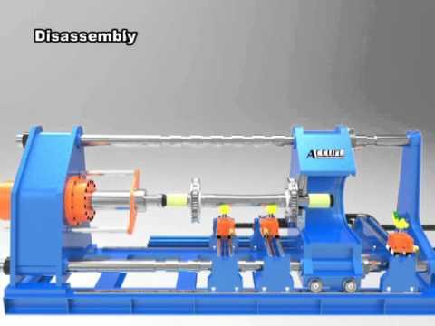 wheel press machine