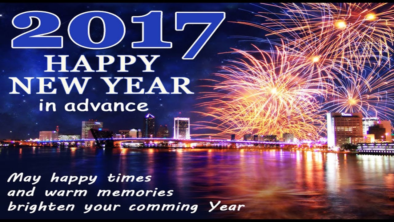 happy new year 2017 greetings whatsapp videobeautiful e card new year wishes video youtube